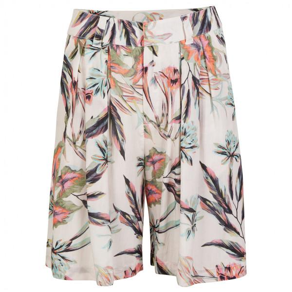 Women's LW Blue Shorts - Global Print - Shorts