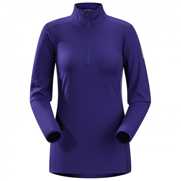 Arc'teryx - Women's Phase AR Zip Neck LS - Longsleeve