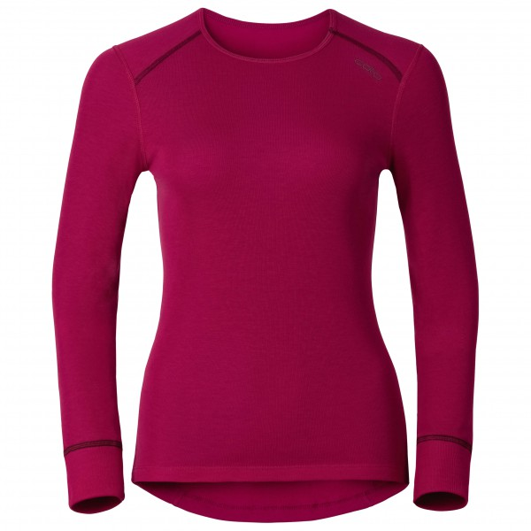 Odlo - Women's Shirt L/S Crew Neck Warm - Long-sleeve