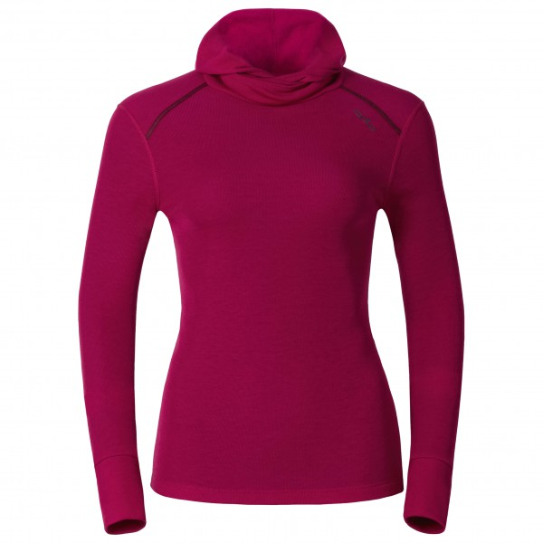 Odlo - Women's Shirt L/S With Facemask Warm - Long-sleeve