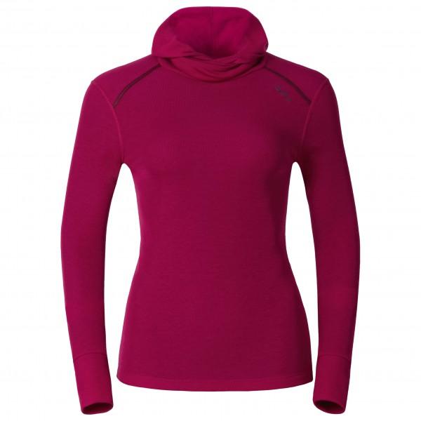 Odlo - Women's Shirt L/S With Facemask Warm - Syntetisk undertøj