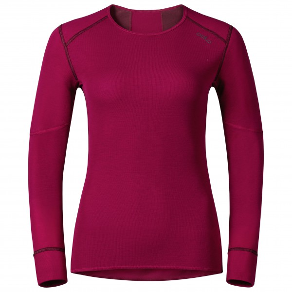 Odlo - Women's Shirt L/S Crew Neck X-Warm - Syntetisk undertøy