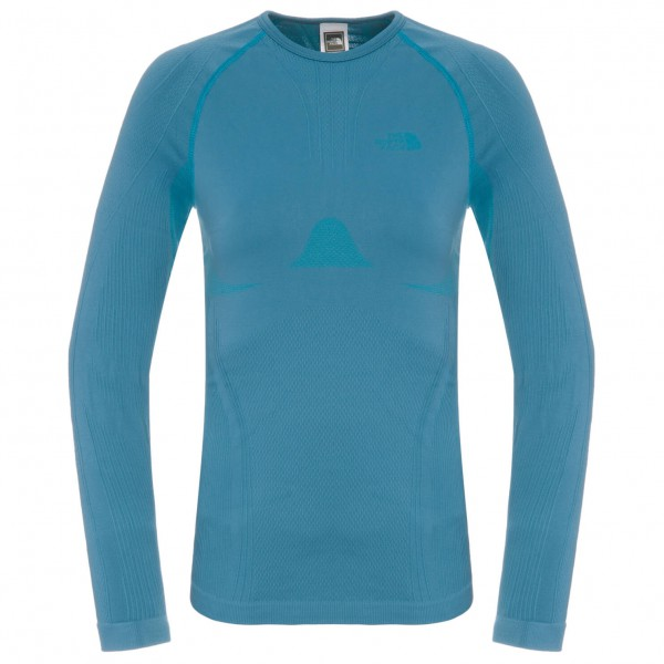 The North Face - Women's Hybrid L/S Crew Neck - Longsleeve