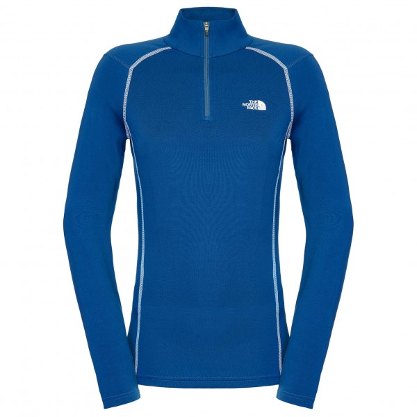 The North Face - Women's Warm LS Zip Neck - Ondergoed