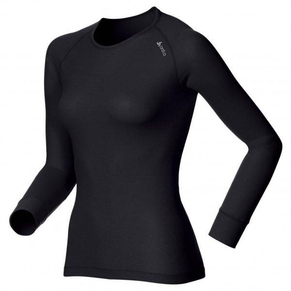 Odlo - Women's Shirt LS Crew Neck Cubic - Underkläder syntet