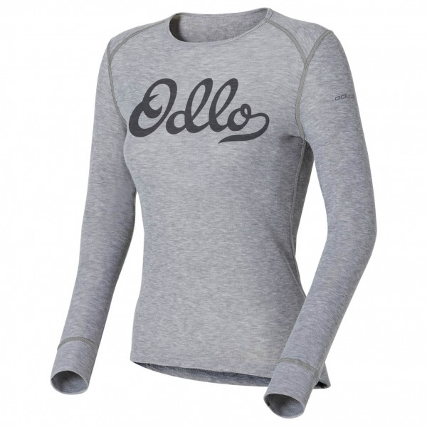 Odlo - Women's Shirt LS Crew Neck Warm Trend (Graphics)