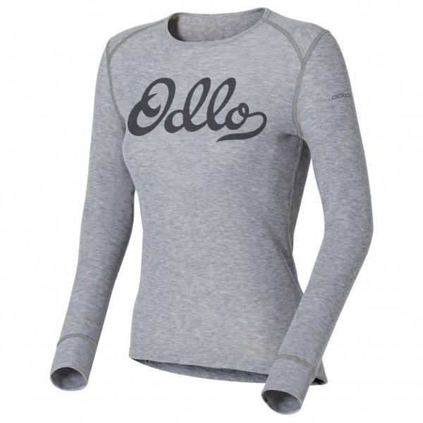 Odlo - Women's Shirt LS Crew Neck Warm Trend (Graphics)