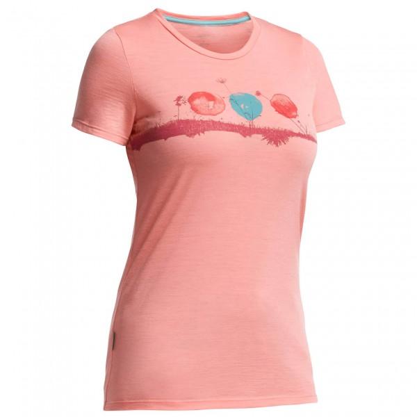 Icebreaker - Women's Tech Lite SS Crewe Sun Wash - T-shirt