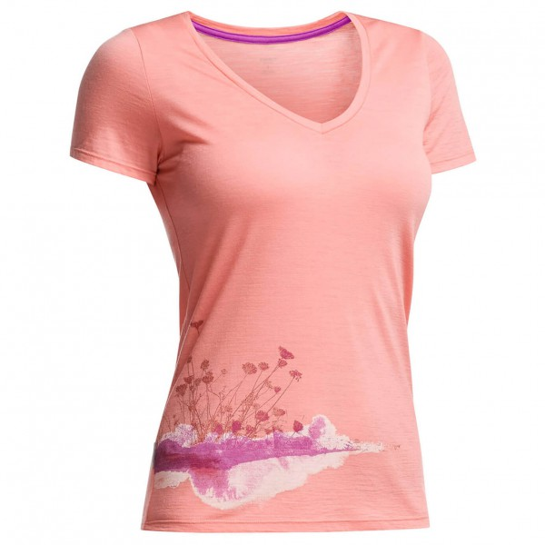 Icebreaker - Women's Tech Lite SS V Lace - T-shirt