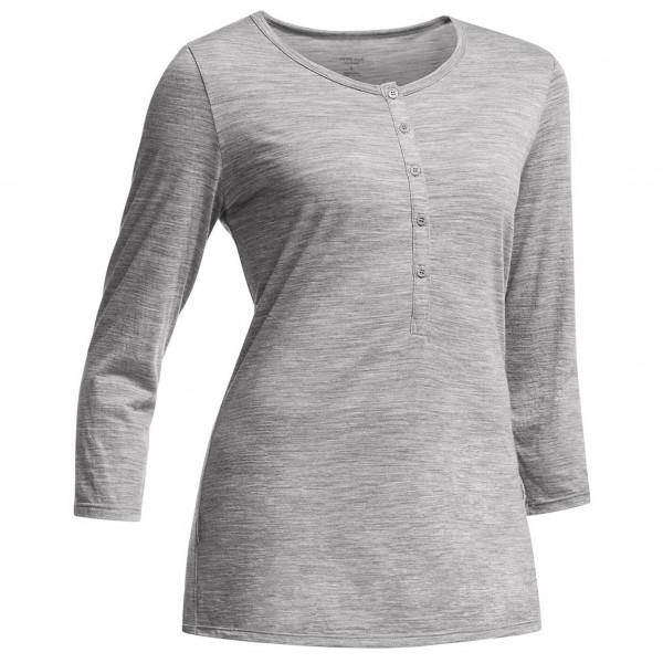 Icebreaker - Women's Tech Lite 3/4 Henley - Long-sleeve