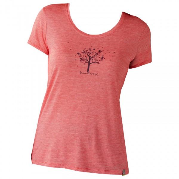 Smartwool - Women's Graphic Tree Tee: Scoop Tee Tencel