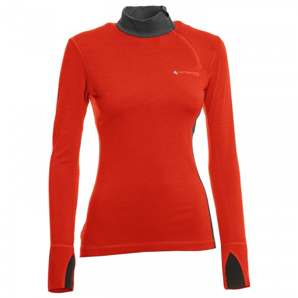 Klättermusen - Women's Vide Zip Polo - Long-sleeve