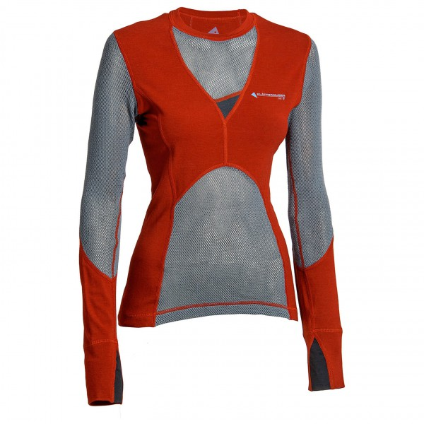 Klättermusen - Women's Grid Net Sweater - Long-sleeve