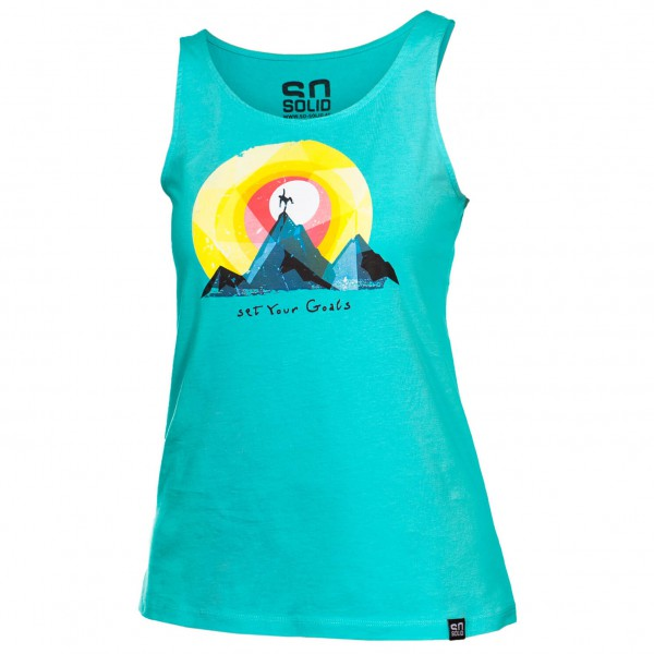 So Solid - Women's Set Your Goals Tank Top