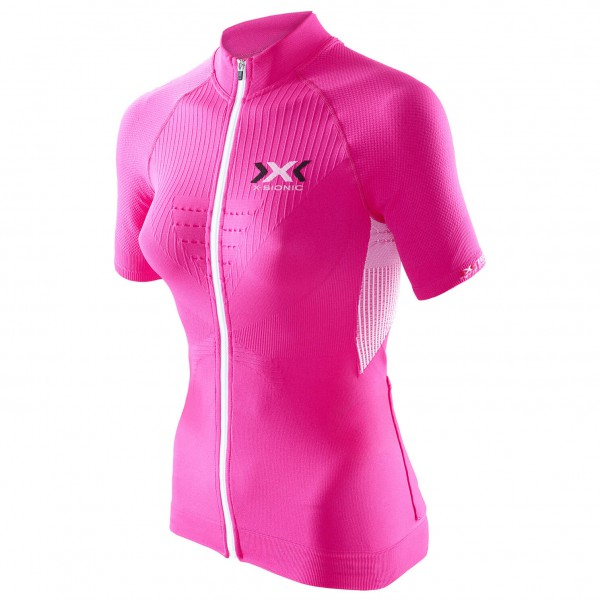 X-Bionic - Women's The Trick Biking Shirt S/S Full Zip