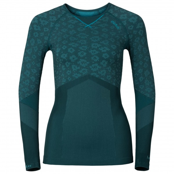 Odlo - Women's Blackcomb Evolution Shirt L/S Crew Neck - Synthetisch ondergoed