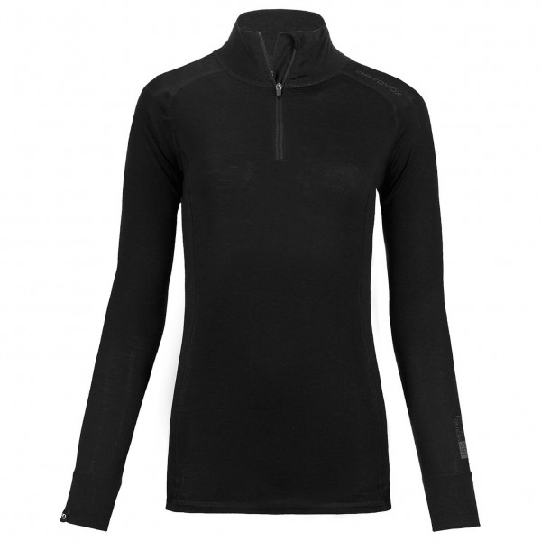 Ortovox - Women's Merino 185 Long Sleeve Zip Neck