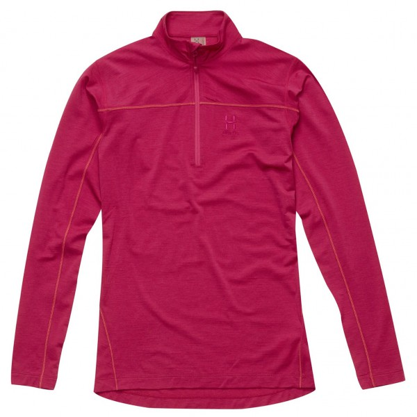 Haglöfs - Women's Actives Merino II Zip Top - Long-sleeve