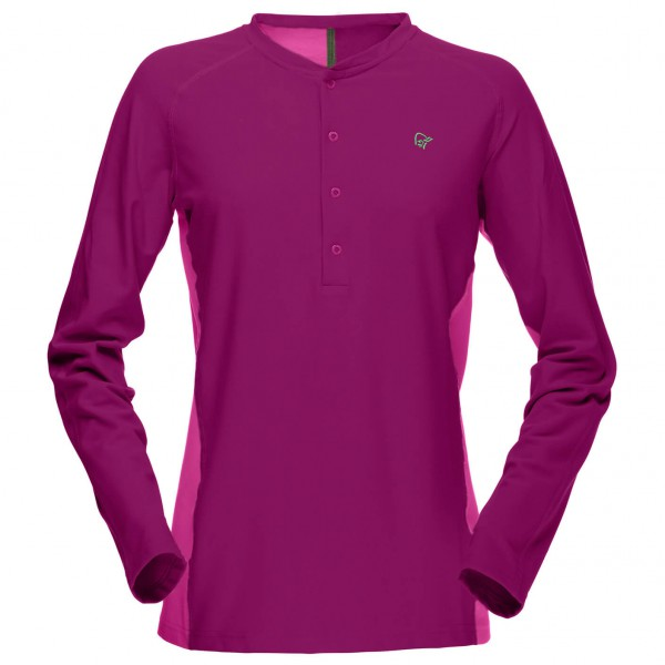 Norrøna - Women's Narvik Tech+ Sweater - Manches longues
