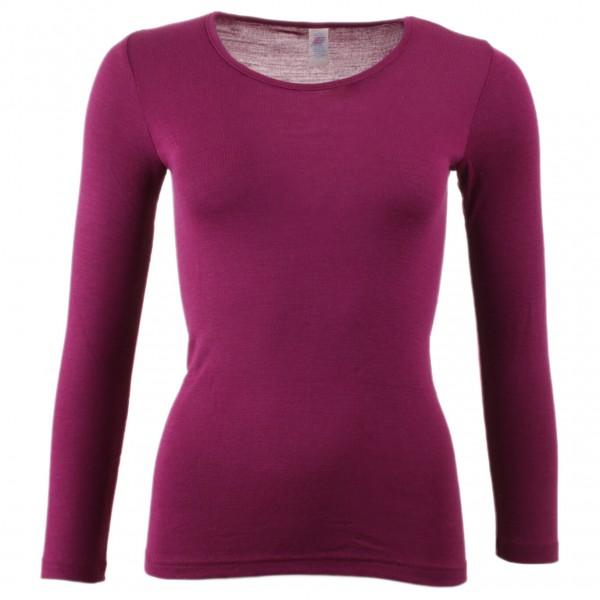 Engel - Women's Unterhemd L/S - Silkkialusvaatteet