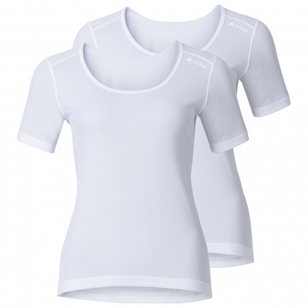 Odlo - Women's Shirt S/S Crew Neck Cubic 2 Pack