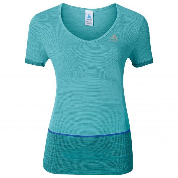 Odlo - Women's Shirt S/S V-Neck Seamless Kamilera