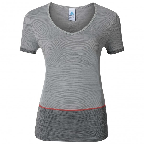 Odlo - Women's Shirt S/S V-Neck Seamless Kamilera