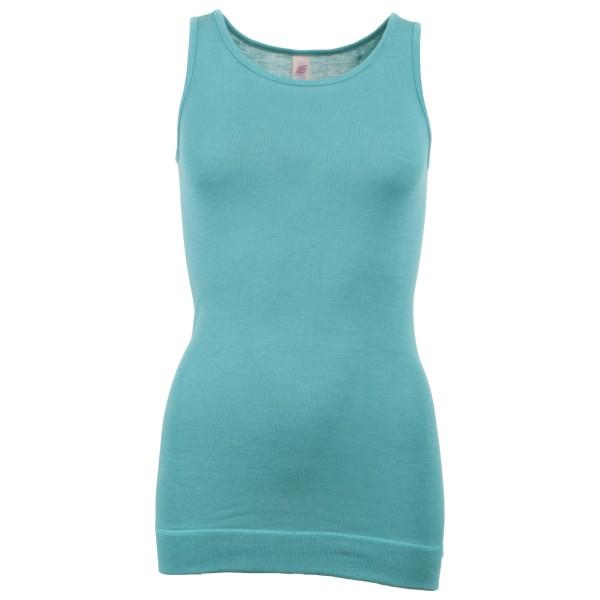 Engel - Women's Ärmellos Long-Shirt - Silk underwear