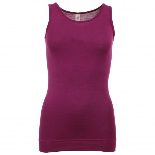 Engel - Women's Ärmellos Long-Shirt - Silkkialusvaatteet