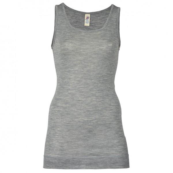 Engel - Women's Ärmellos Long-Shirt - Silk base layers