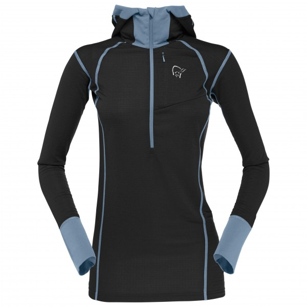 Norrøna - Women's Super Hoodie - Synthetic base layers