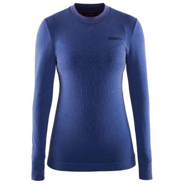 Craft - Women's Wool Comfort L/S - Synthetisch ondergoed
