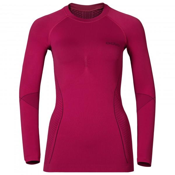 Odlo - Women's Shirt L/S Crew Neck Evolution Warm - Syntetisk undertøj