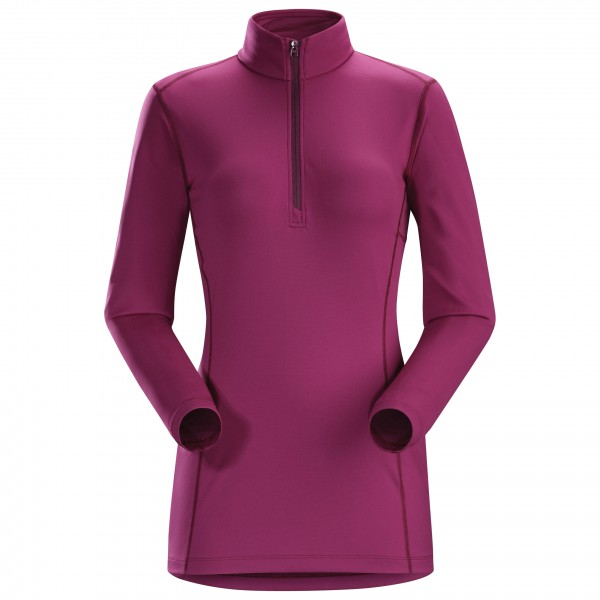 Arc'teryx - Women's Phase AR Zip Neck L/S