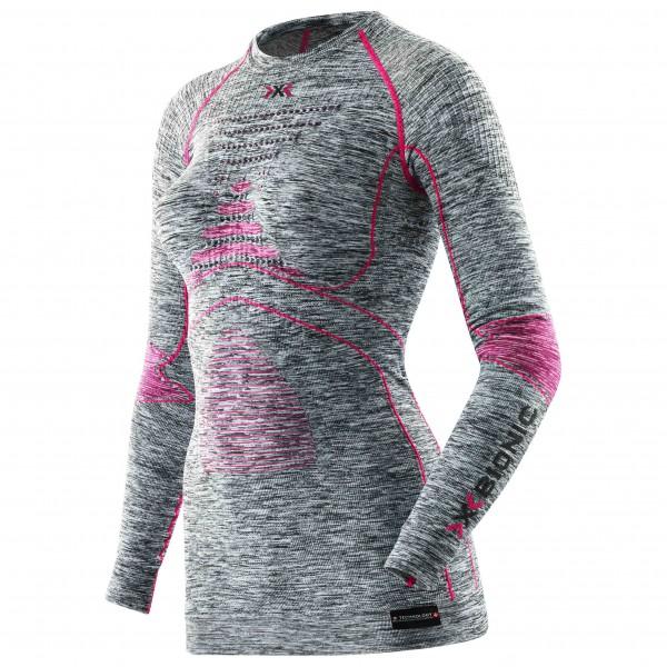X-Bionic - Lady Accumulator Evo Shirt L/S Round Neck - Tekokuitualusvaatteet