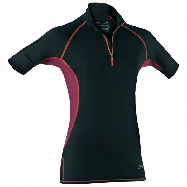 Engel Sports - Women's Zip-Shirt - Seidenunterwäsche
