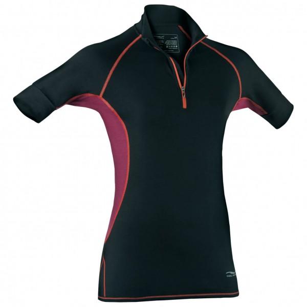 Engel Sports - Women's Zip-Shirt - Seidenunterwäsche