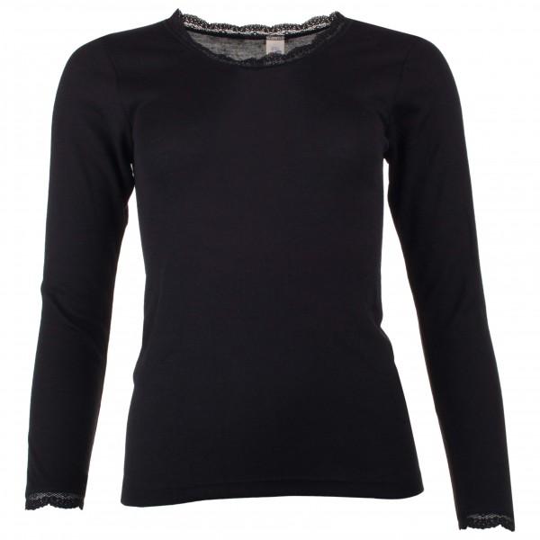 Engel - Women's Shirt L/S mit Spitze - Merinounterwäsche