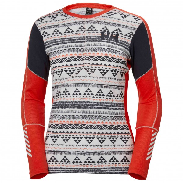 Helly Hansen - Women's HH Lifa Active Graphic Crew - Syntetisk undertøy