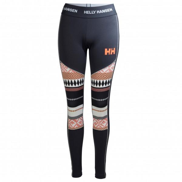 Helly Hansen - Women's HH Lifa Active Graphic Pant - Tekokuitualusvaatteet