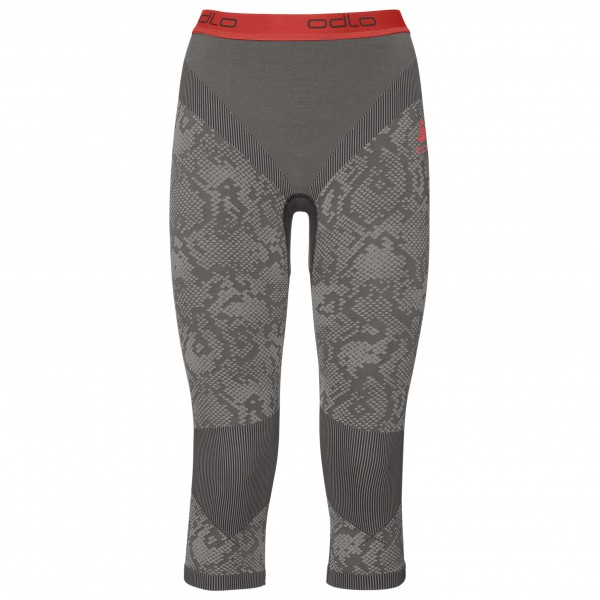 Odlo - Women's Pants 3/4 Blackcomb Evolution Warm - Tekokuitualusvaatteet