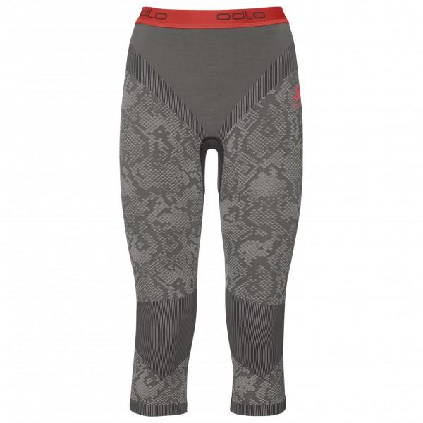 Odlo - Women's Pants 3/4 Blackcomb Evolution Warm - Underkläder syntet