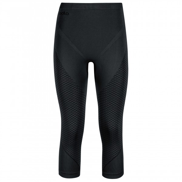 Odlo - Women's Pants 3/4 Evolution Warm - Ropa interior fibra sintética