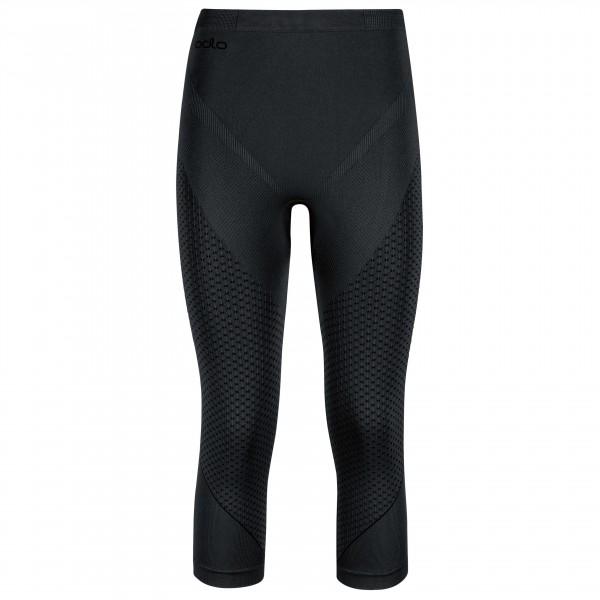 Odlo - Women's Pants 3/4 Evolution Warm - Tekokuitualusvaatteet