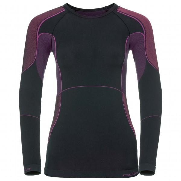 Odlo - Women's Shirt L/S Crew Neck Evolution X-Warm - Syntetisk undertøj