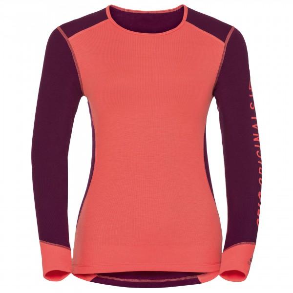 Odlo - Women's Shirt L/S Crew Neck Warm Revelstoke - Synthetic base layer