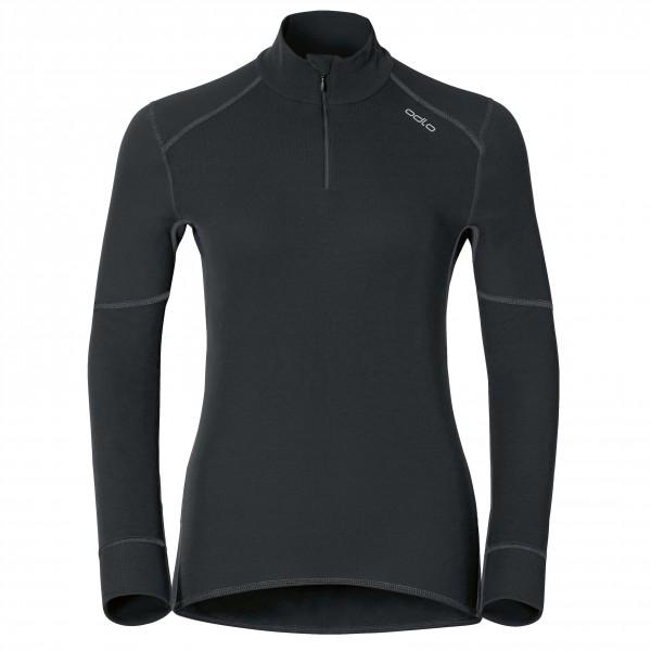 Odlo - Women's Shirt L/S Turtle Neck 1/2 Zip X-Warm - Underkläder syntet