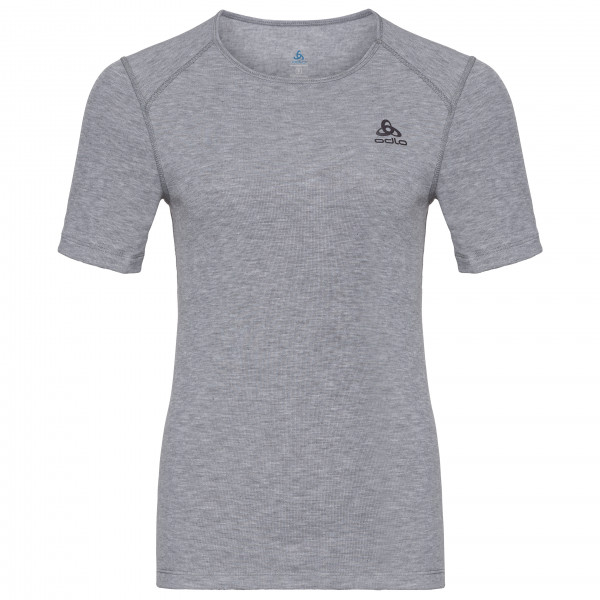 Odlo - Women's Shirt S/S Crew Neck Warm - Tekokuitualusvaatteet
