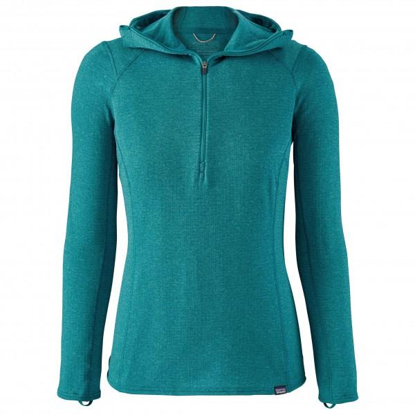 Patagonia - Women's Capilene Thermal Weight Zip Neck Hoody - Tekokuitualusvaatteet