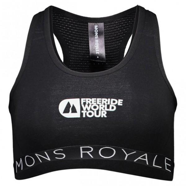 Mons Royale - Women's Sierra Sports Bra FWT - Sports bra